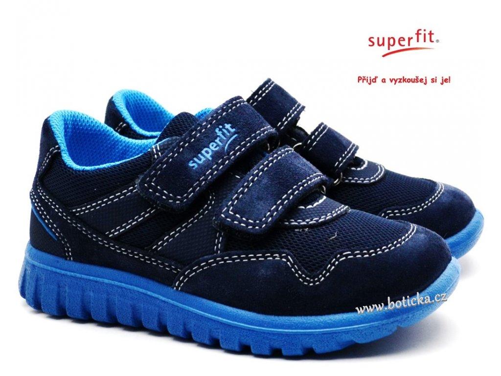 SUPERFIT 609191-80 Dětské boty blau