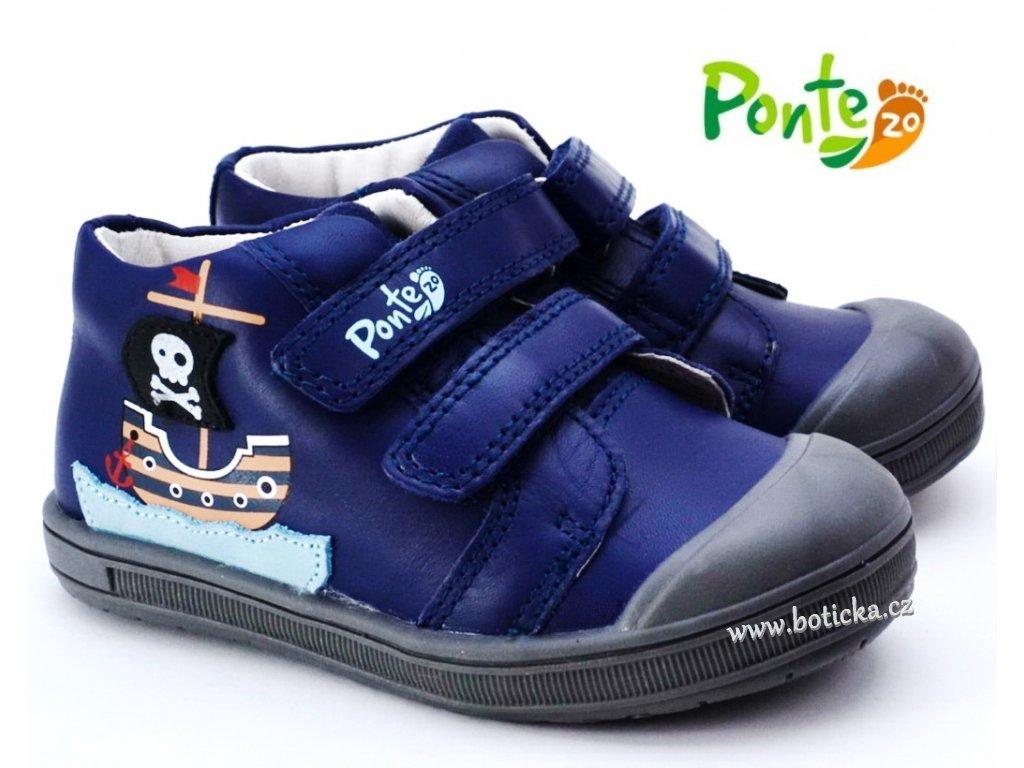 PONTE PP120-DA03 Dětské boty Piráti