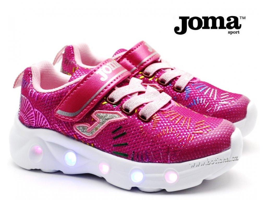 Blikající botasky JOMA J.SPACS 2010 pink
