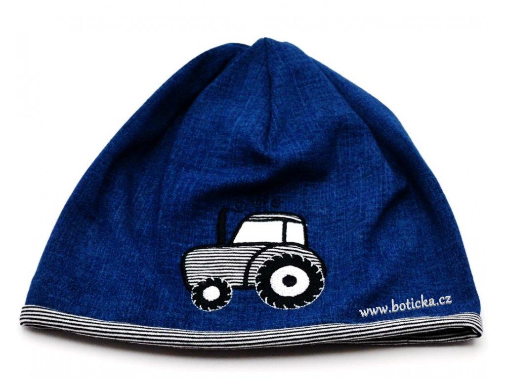 Čepice jednoduchá YETTY B276/4 Traktor