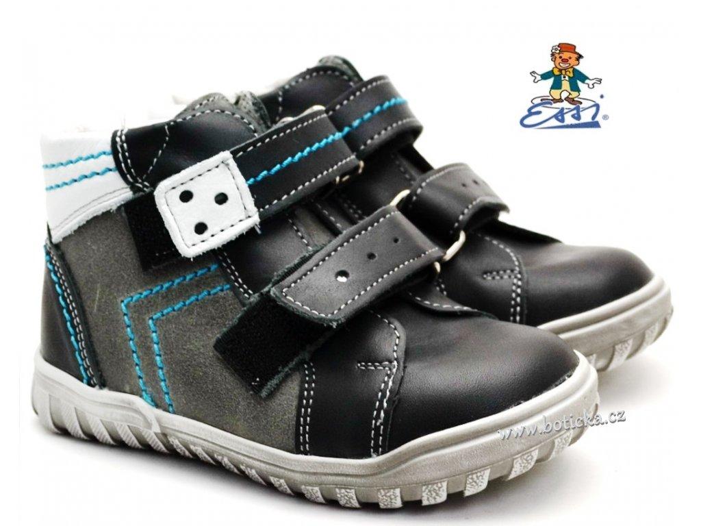 SÁZAVAN ESSI S 2046 Dětské boty černé
