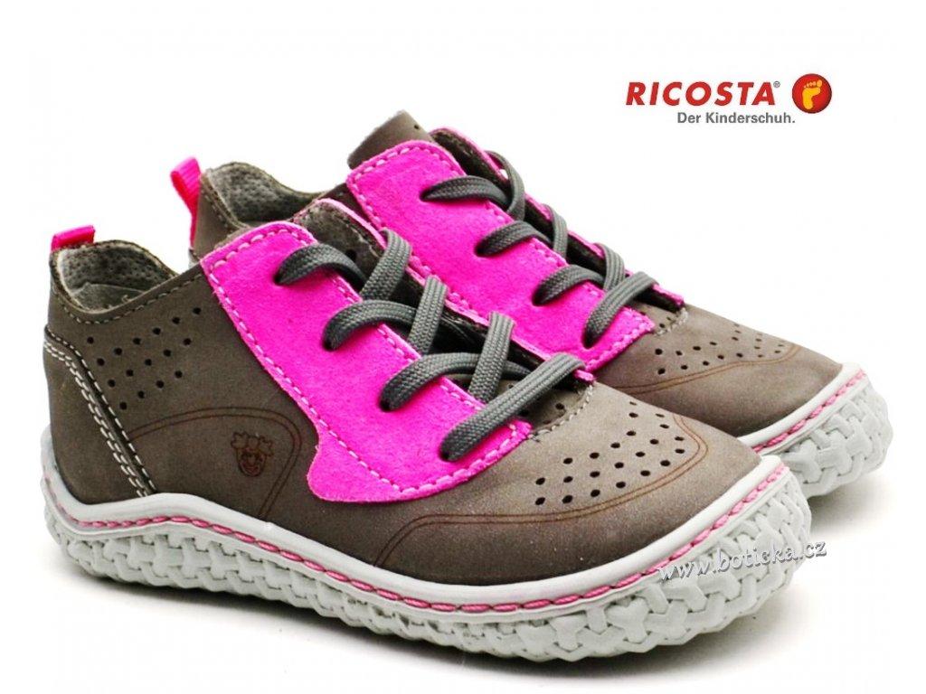 Dětské barefoot boty RICOSTA 17206 451