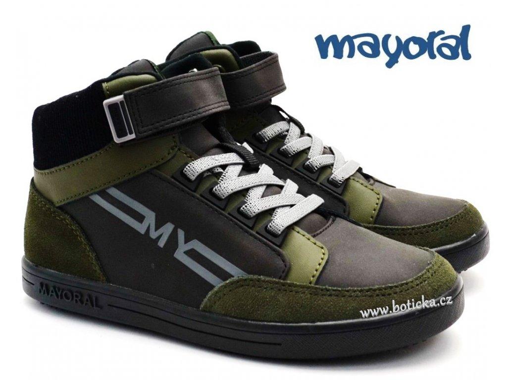 Dětské boty MAYORAL 46.187 083 Hunt Green