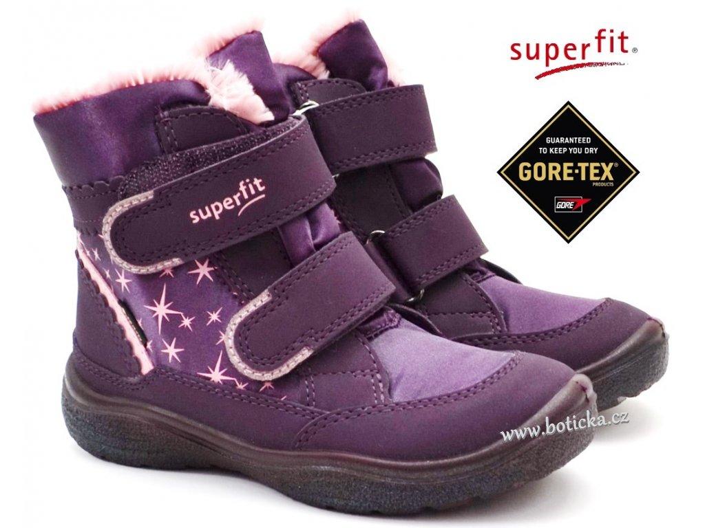 Zimní boty SUPERFIT 1-009096-8500 Crystal