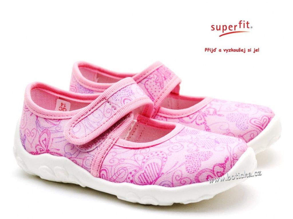 Dětské bačkory SUPERFIT 1-800283-5000