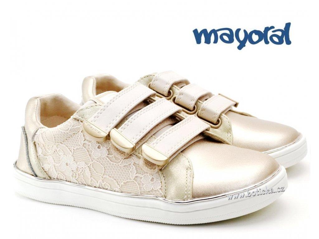Dětské boty MAYORAL 43.243 61 Champagne