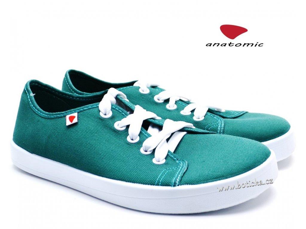Barefoot tenisky ALL IN A18 zelené