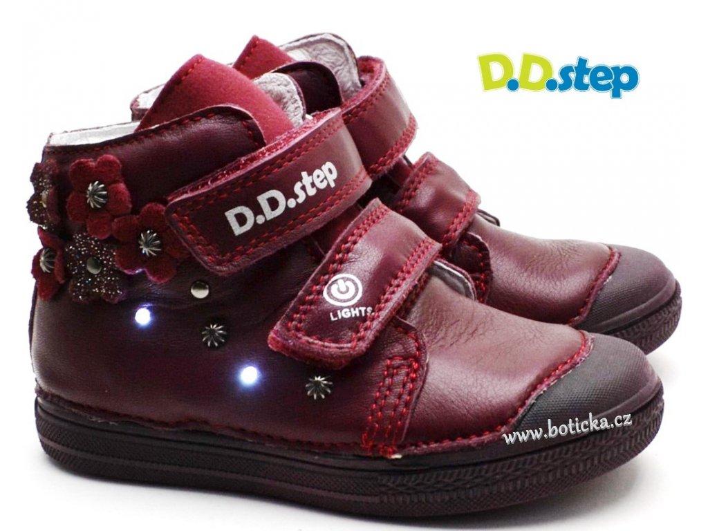 DDStep A049-885B Dětské blikající boty