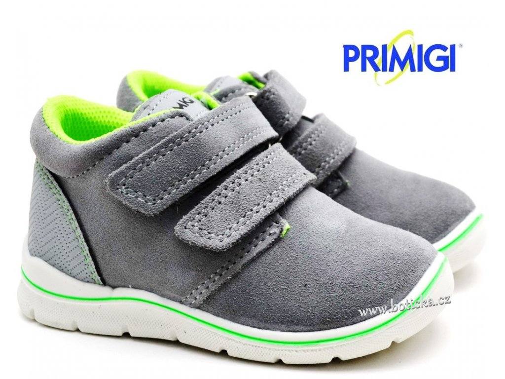 Dětské boty PRIMIGI PKK 83520 33 grigio