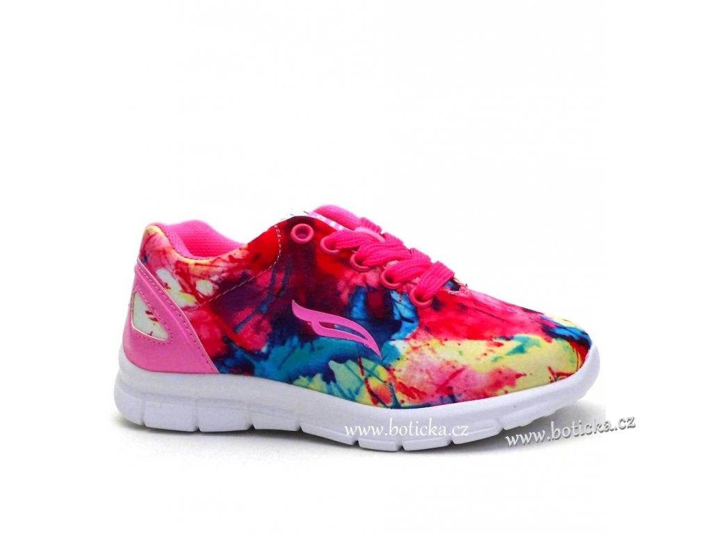 Sport obuv 228723 růžové