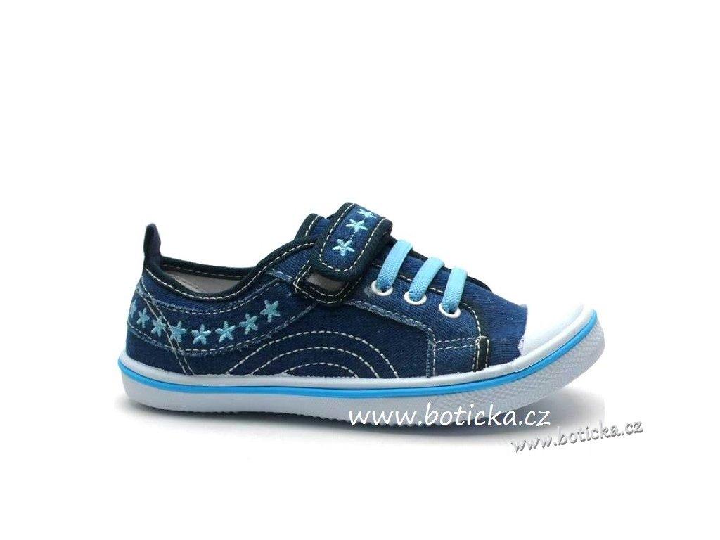 Tenisky HASBY 106356 modré