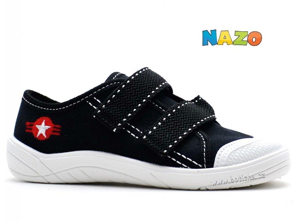Tenisky NAZO NA/032 AA černé