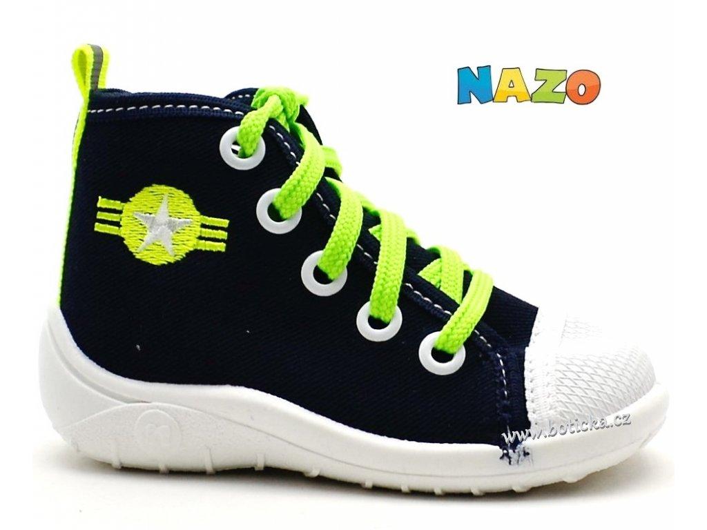 Tenisky NAZO NA/1113 tm. modré
