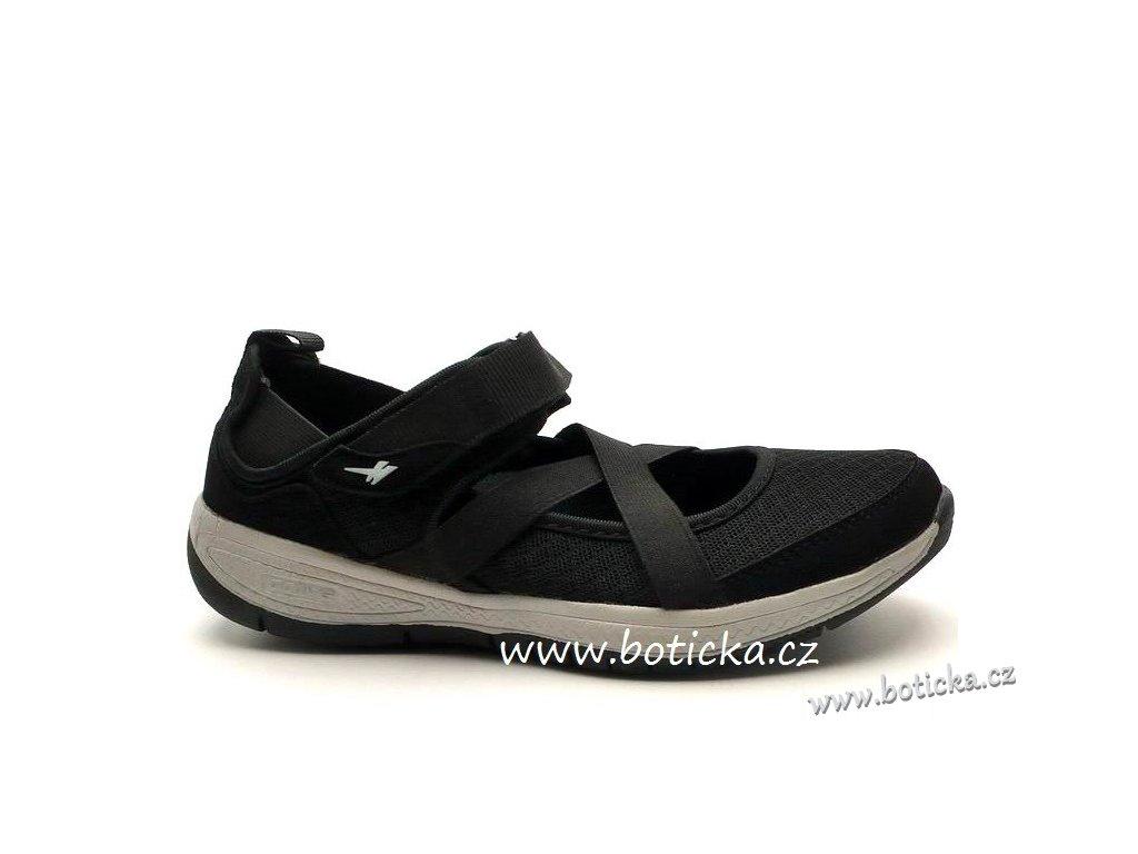 Baleríny GOLA Pagosa black/grey