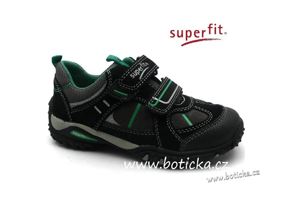 SUPERFIT obuv 1-00233-02 schwarz kombi