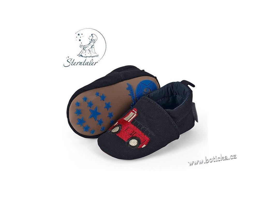 STERNTALER botičky modré - auta - Botička a6b8c70d21