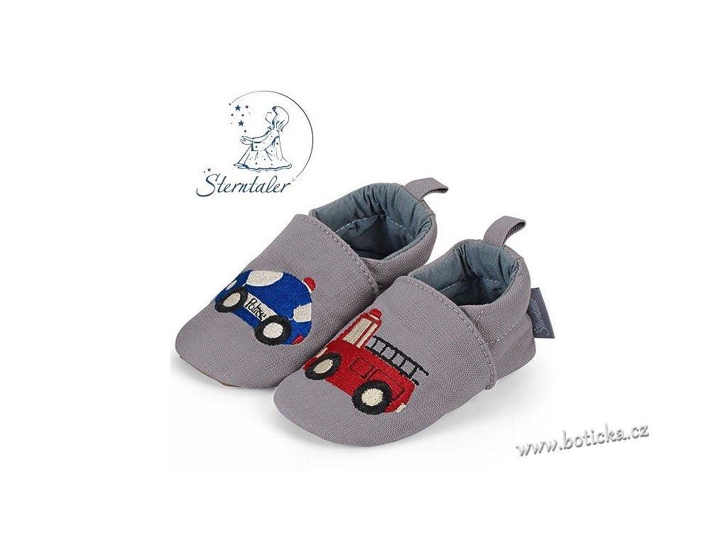 STERNTALER botičky šedá auta