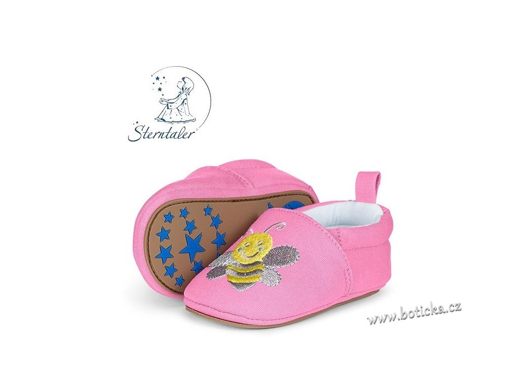 STERNTALER botičky sv. růžové - včela - Botička 32c6c09308