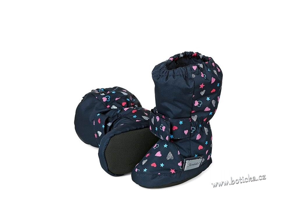 Voděodolné teplé boty STERNTALER navy - Botička 9e10f6553d