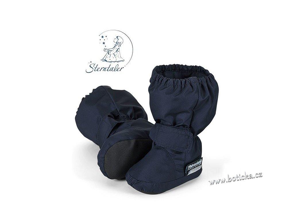 Voděodolné teplé boty STERNTALER tm. modré - Botička 88de47f8be