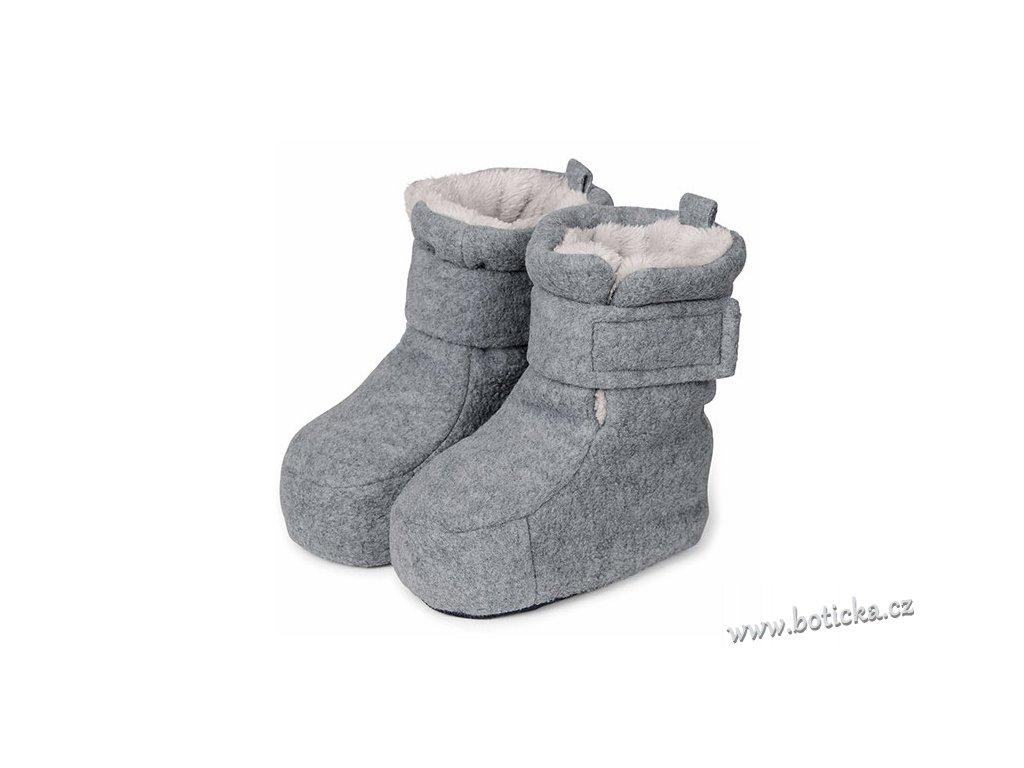 Teplé boty do kočárku STERNTALER 5101616 silber