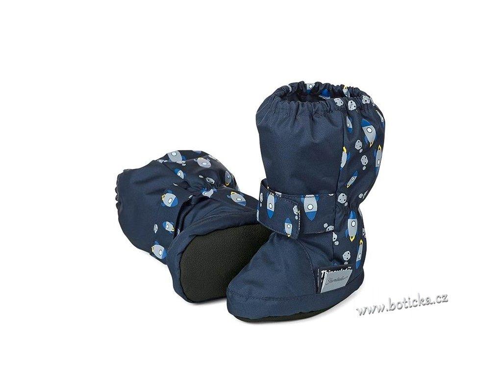 Voděodolné teplé boty STERNTALER modré - Botička 44dd41a35d