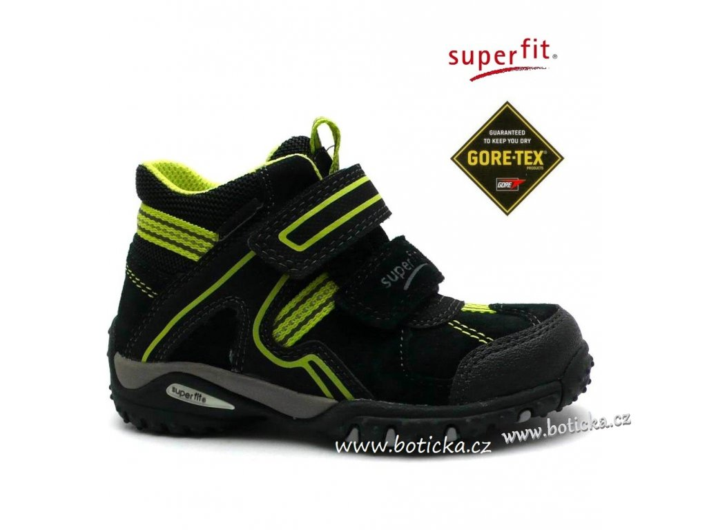 SUPERFIT obuv 3-00364-03 schwarz multi