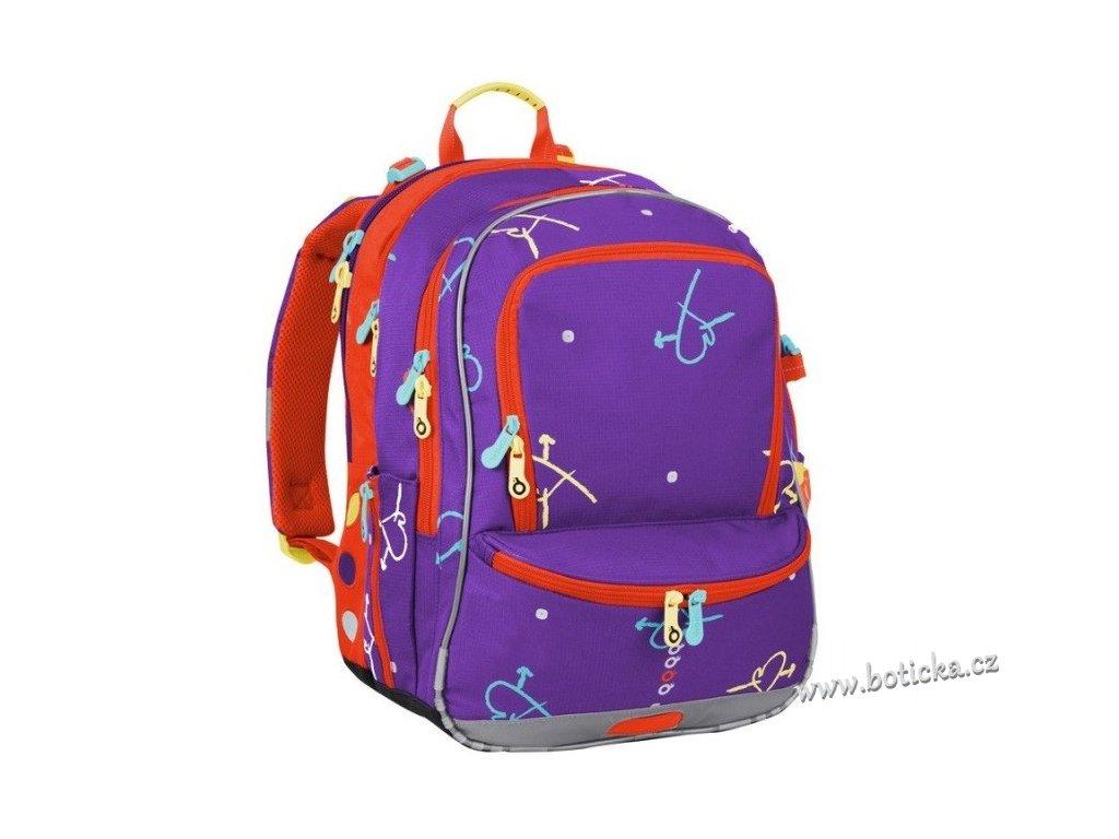 Školní batoh TOPGAL CHI 187 I Violet