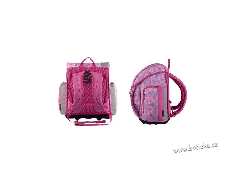 Školní aktovka BAGMASTER A 004 B pink - Botička 79064994af