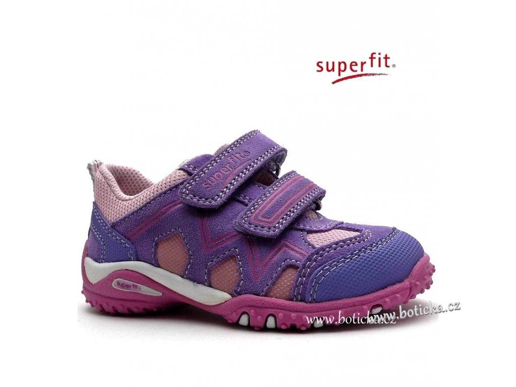 SUPERFIT obuv 6-00233-77 lila kombi