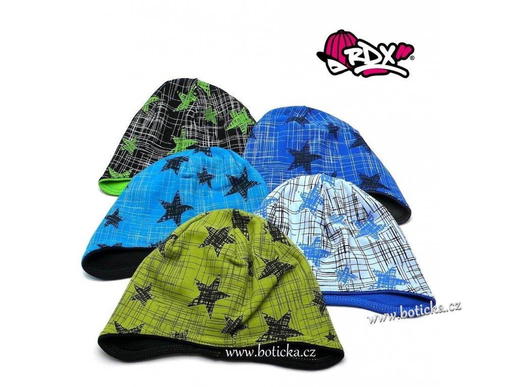 RDX čepice na uši 2708 Hvězdy