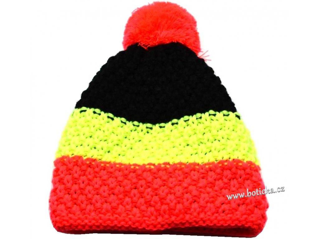 Zimní čepice PLETEX H058 dívčí