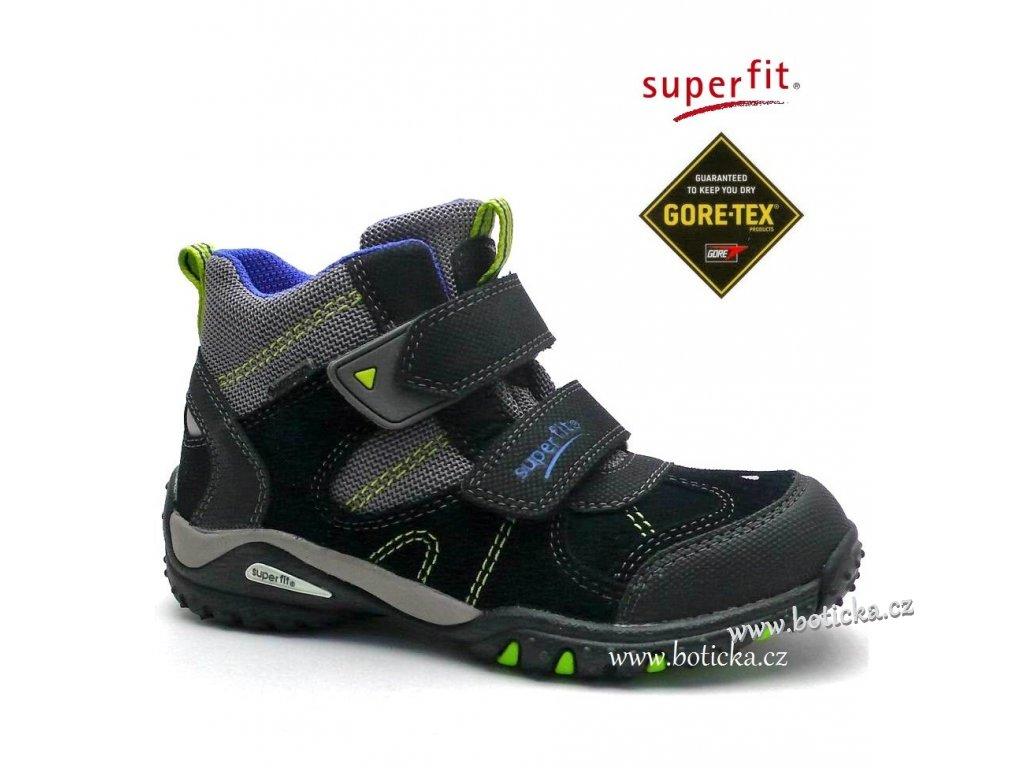 SUPERFIT 7-00364-02 dětské boty gore-tex