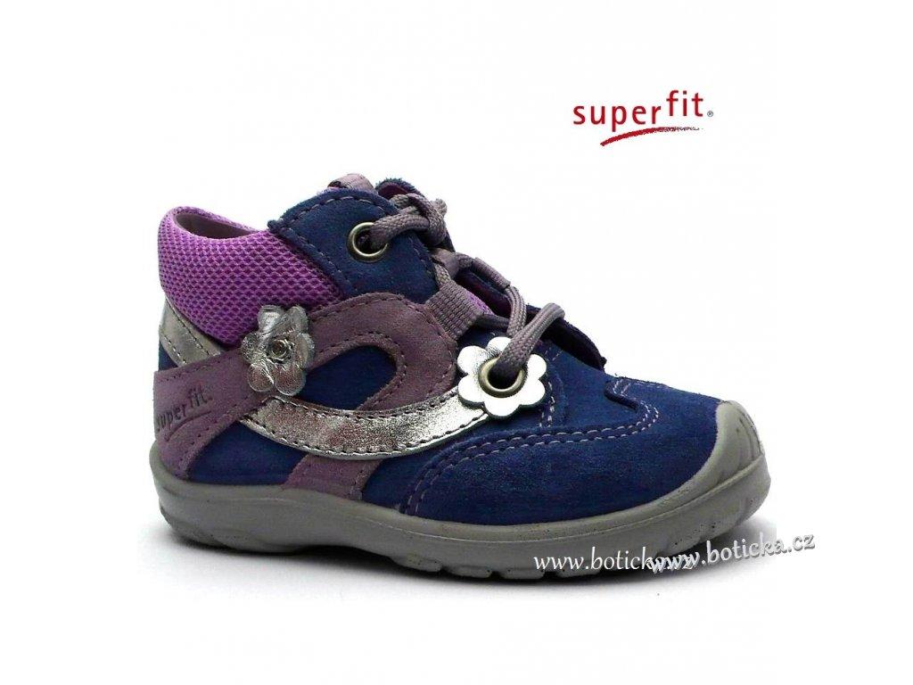 SUPERFIT obuv 0-08324-77 lila kombi