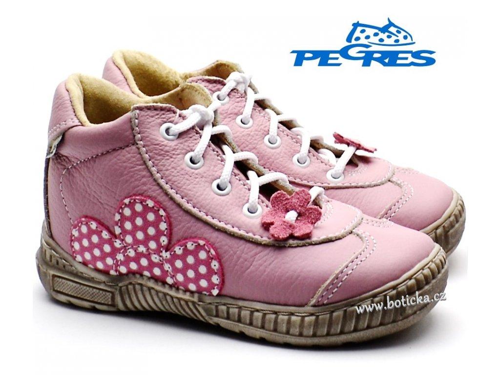 Dětské boty PEGRES 1401 růžové - Botička 0c03dd2002