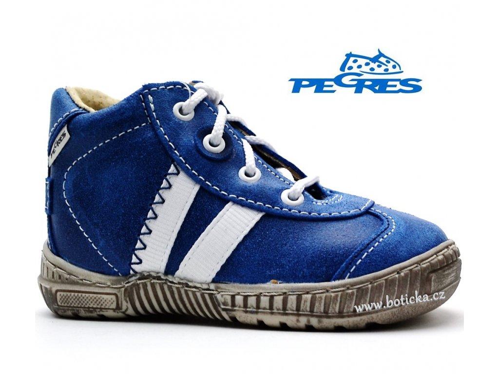 43e7690ad30fc Dětské boty PEGRES 1401 modré - Botička