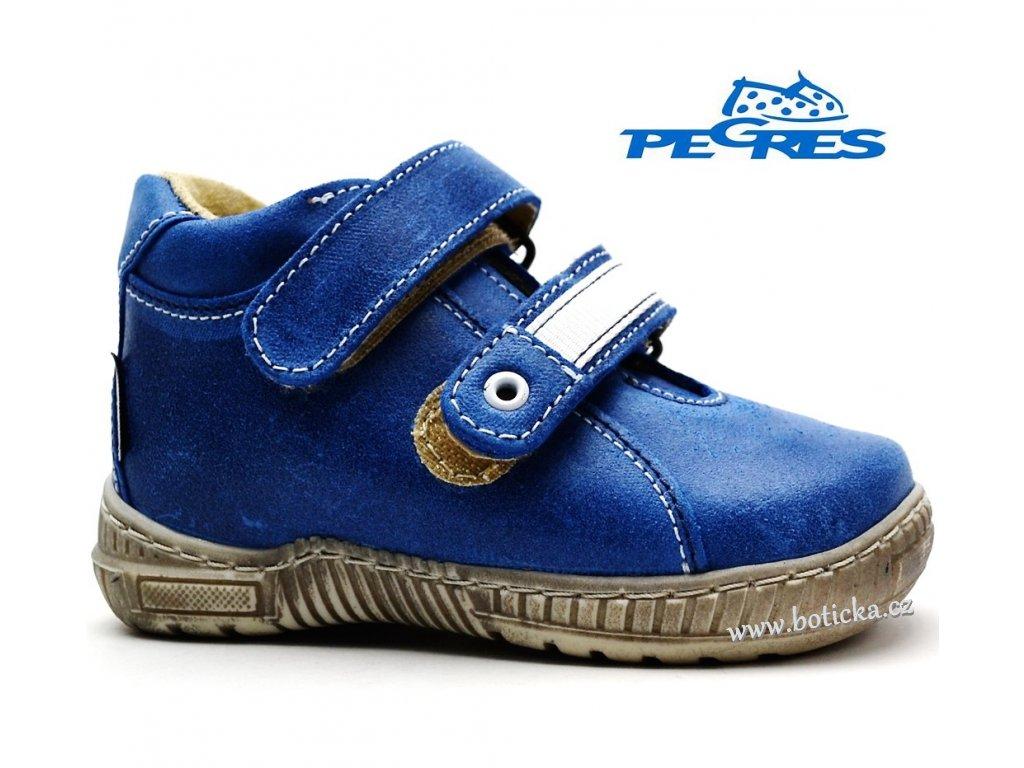 Dětské boty PEGRES 1404 modré - Botička 7246cc12ff