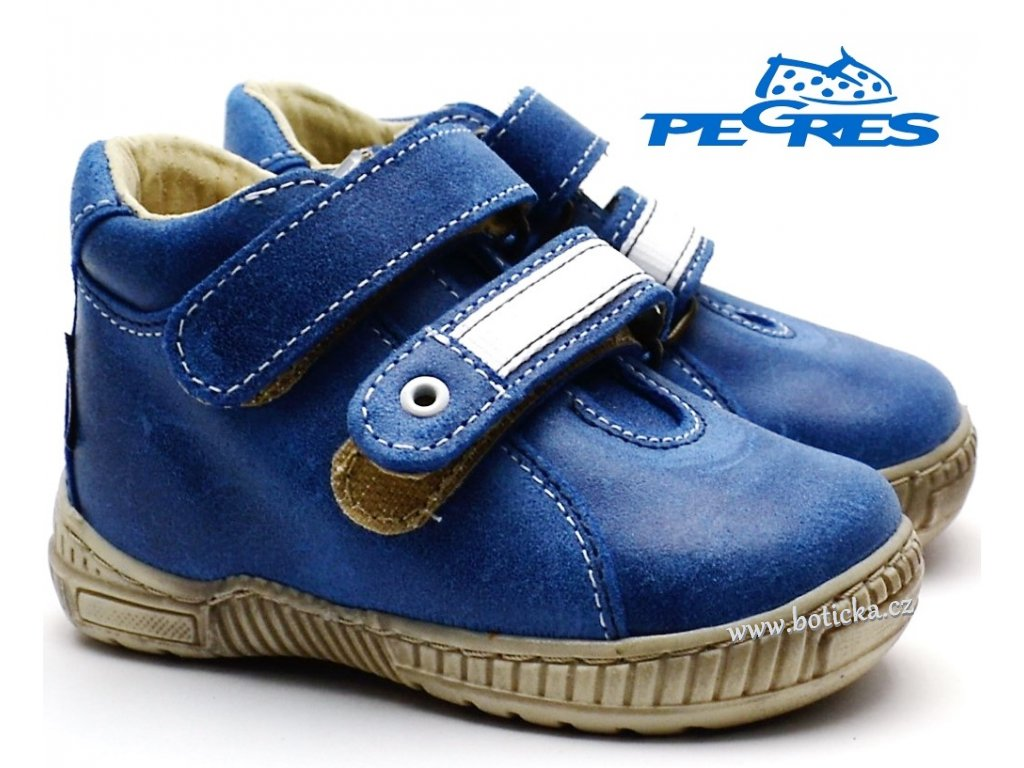 Dětské boty PEGRES 1404 modré 16140400a 16140400b 8830207945
