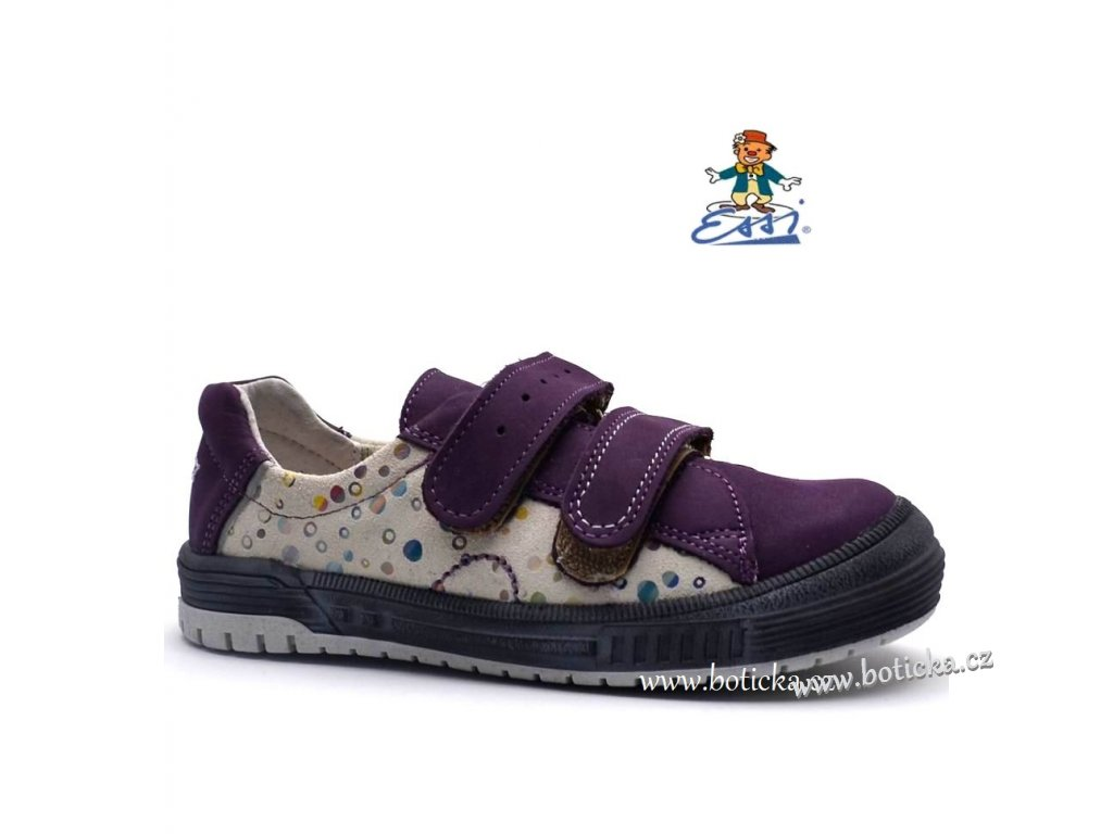 Dětské boty Sázavan ESSI S2782 fialové