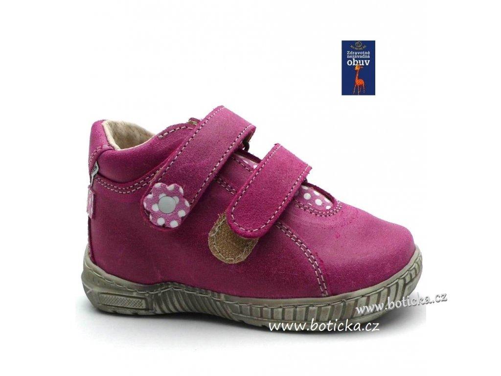 Dětské boty PEGRES 1404 růžové Dětské boty PEGRES 1404 růžové 9e6f65ca33