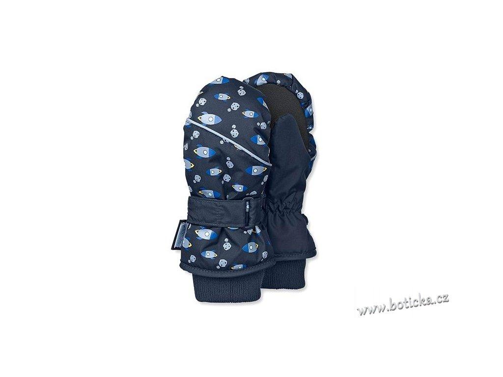 Rukavice voděodolné STERNTALER 4321701 modré rakety - Botička 8fa7ee942e