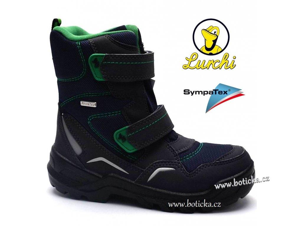 Zimní boty LURCHI 33-31010 atlantic green