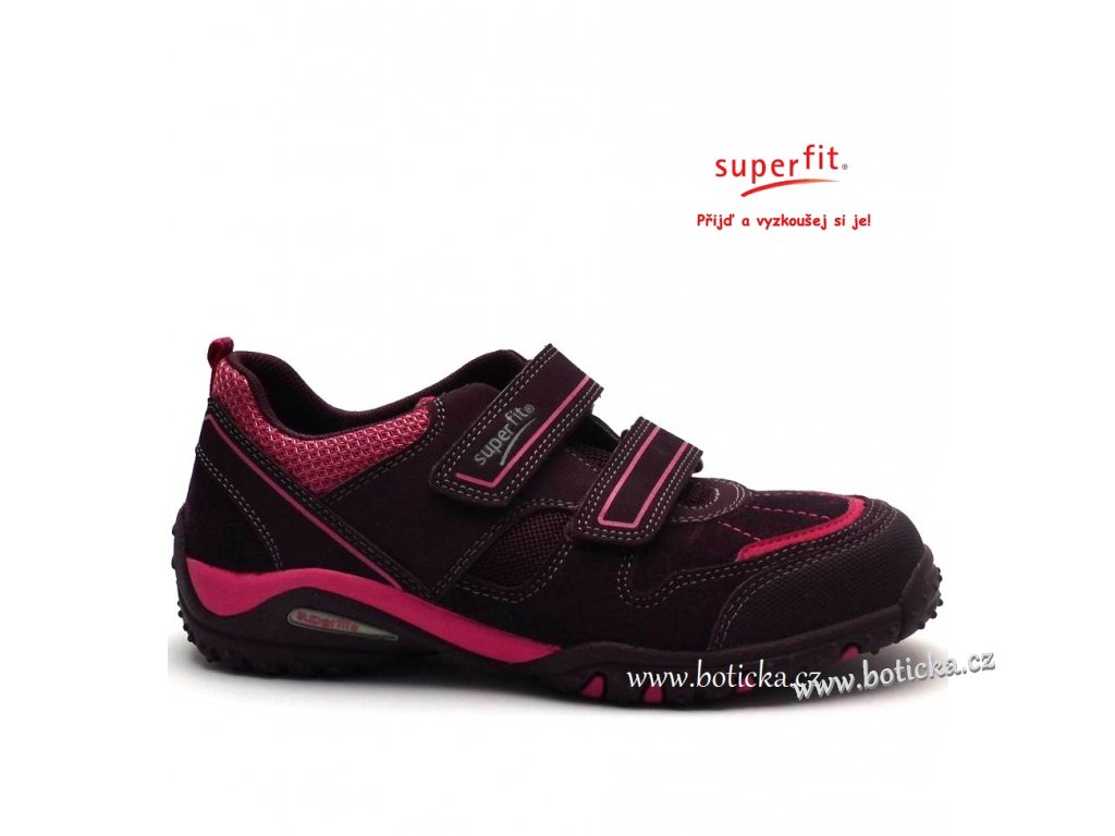 SUPERFIT obuv 1-00224-41 eggplant kombi