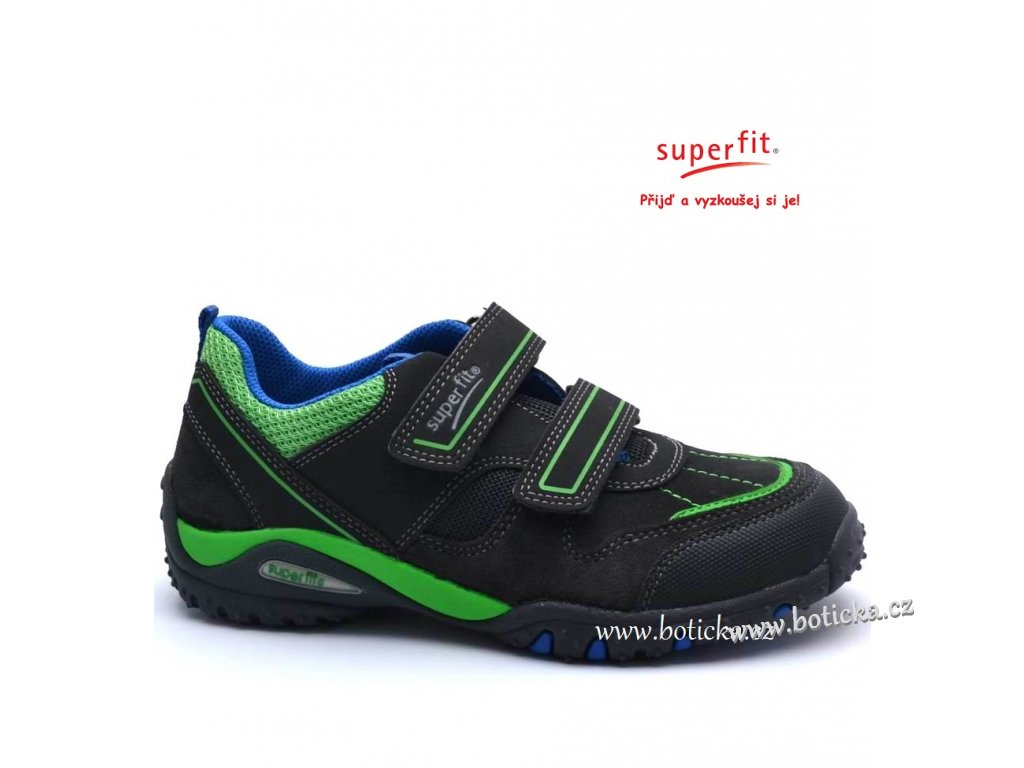 SUPERFIT obuv 1-00224-48 charcoal kombi