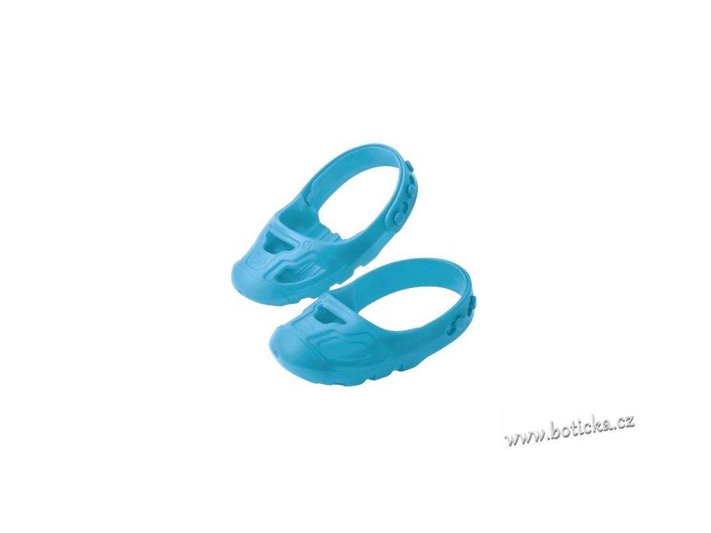 07efea0c471 BIG SHOE chrániče na boty modré - Botička