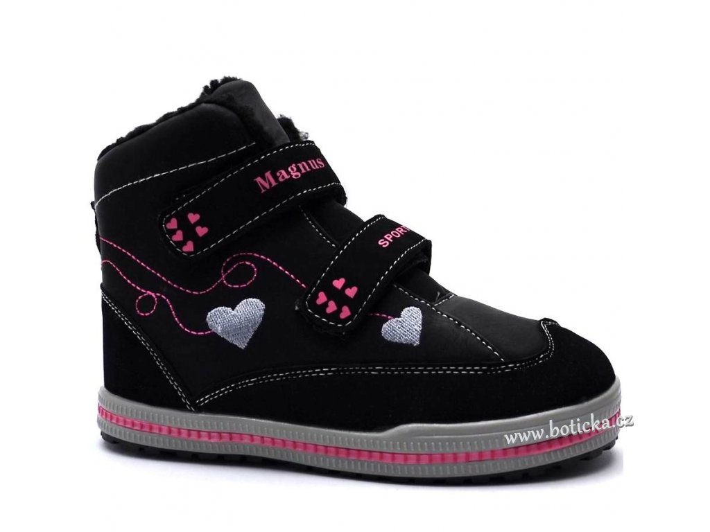 MAGNUS zimní obuv 46-0582 černé - Botička 83b6546bfa
