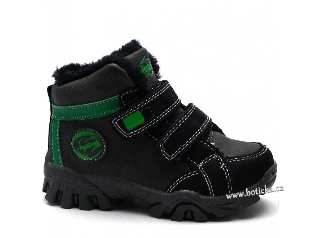 29e0ac5de5d Zimní obuv Slobby 46-0333 černé - Botička