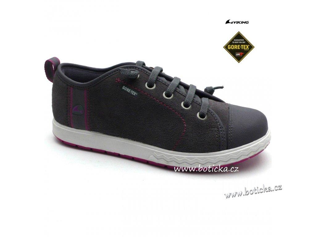 Dětské boty VIKING 3-43650 grey