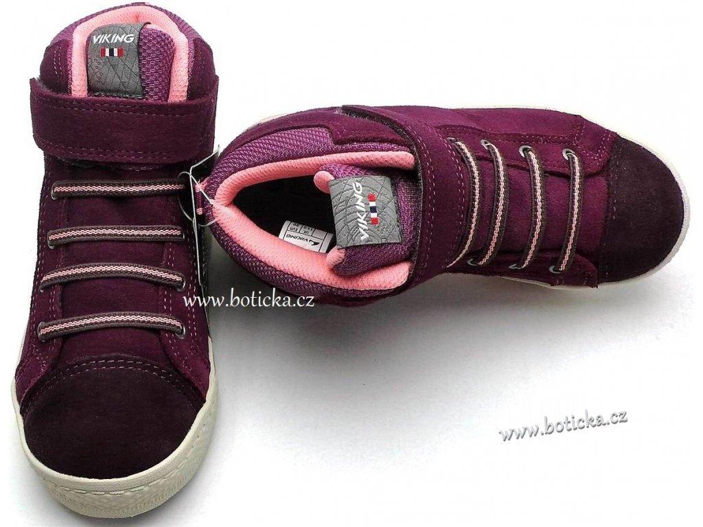 VIKING obuv 3-83070 gore-tex Falcon růžové - Botička 252ab967ec