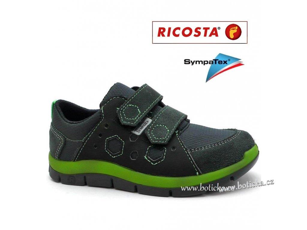 Dětské boty RICOSTA Sympatex 91209 antracit